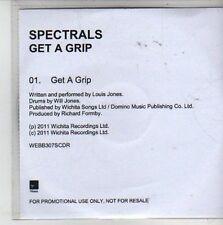 (CG979) Spectrals, Get A Grip - 2011 DJ CD