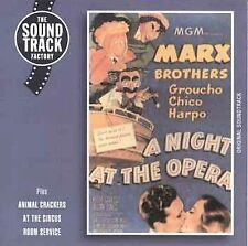 , Marx Brothers: A Night at the Opera, Excellent Soundtrack, Import
