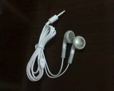 Lot 100X White Headset Earphone Headphone Earbuds 3.5mm For Cell Phone Mp3 Mp4