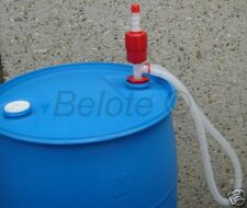 Emergency Water Siphon Pump 5 GPM Fits 5-55 Gallon Drum
