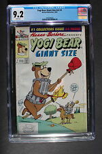 YOGI BEAR GIANT SIZE V2 #1 Harvey 1992 Hanna-Barbera Muggsy Rocky Cindy CGC 9.2