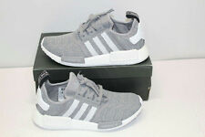 Adidas Men's Size 9 NMD_R1 Running Shoes In Solid Grey BB2886