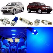 14x Blue LED Interior Lights Package Kit for 2007-2012 Acura RDX + Tool AR2B