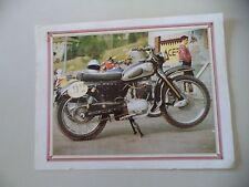 RITAGLIO DI GIORNALE ANNI '80 - MOTO NSU MAX 250 DEL 1954