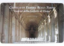 """SCHEDA TELEFONICA G 912-""""TELECOM ITALIA""""-""""CASTELLO DI VENARIA REALE""""-Lire 5.000"""