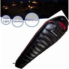 New 800G Outdoor Camping Mummy Lightweight Duck Down Sleeping Bag Envelope Sack