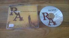 CD Punk Rise Against - Re-Education (1 Song) Promo INTERSCOPE GEFFEN sc