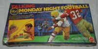 Vintage ABC Talking Monday Night Football Game for Parts, Missing Sportscaster