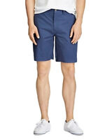 Polo Ralph Lauren Men's Stretch Classic Fit Chino Shorts Navy Blue Size 30W