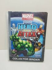 Topps Marvel Hero Attax Cards & Collectors Binder (150+ Cards) Foils Movie