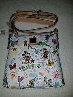 Dooney & Bourke Shanghai Disneyland Crossbody Hand Bag, Mickey & Minnie Front