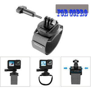 360° Rotation Mount Action Camera Wrist Hand Strap For GoPro 10/9 Insta360