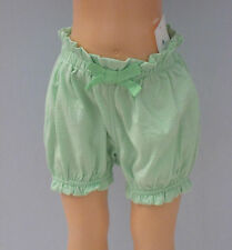 New BABY GAP Size 0-3 Months Girls Julep Green Ruffle-Trim Bubble Shorts
