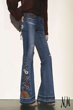 NWT $425 AG Adriano Goldschmied NM Exclusive Angel Jeans; 11 Year Sunflower; 24
