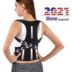 Women Men Adjustable Back Posture Corrector Magnetic Therapy Belt Brace Support