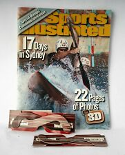 Sports Illustrated 3-D October 2000 magazine with glasses