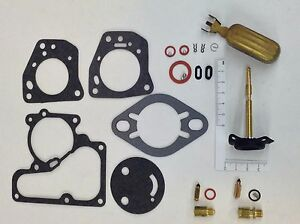 CARTER YF 1 BARREL CARBURETOR KIT 1950-1967 JEEP AMERICAN MOTORS 4 & 6 CYL FLOAT
