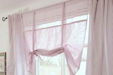 Rollo Raffrollo Roll Gardine rosa 140x90 cm Shabby Landhaus Vintage Romantik NEU