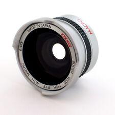 0.42x Fisheye Wide HD lens for JVC Everio GZ-MG330,MG335,MG130,MG155,MG21, Japan