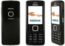 BLACK NOKIA 6300 MOBILE PHONE - UNLOCKED WITH A NOKIA HOUSE CHARGER AND WARRANTY