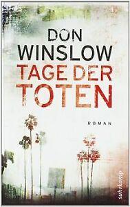 Tage der Toten: Kriminalroman (suhrkamp taschenbuch) von... | Buch | Zustand gut