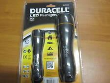 Duracell Led Flashlight Duo-B2,LED Taschenlampe inkl.6 Batterien,Top Qulität NEU