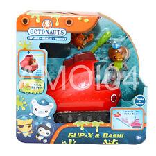 Octonauts Gup X & Dashi Vehicle - Tank Glider, Slime & Octo-Ski New