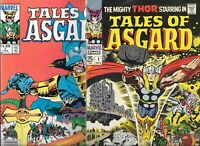 Tales of Asgard #1   Lot of 2 (1968/1984, Marvel Comics) 1st & 2nd Prints