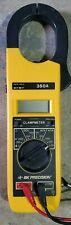 Bk Precision 350a Digital Clamp Meter Dc 9v Battery Condition Vintage