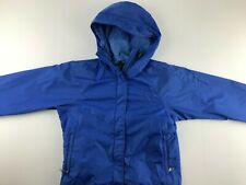 Vintage 80s The North Face Brown Label Women Small Blue Gore-Tex Jacket USA S