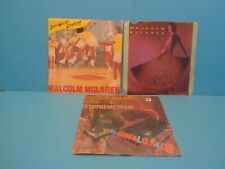 "MALCOLM MCLAREN VINYL 7"" JOB LOT DOUBLE DUTCH MADAM BUTTERFLY BUFFALO GALS"