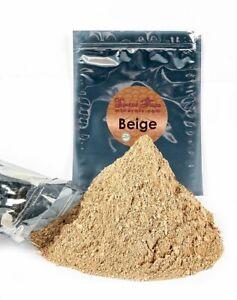 BULK REFILL (BEIGE) Foundation Mineral Makeup Matte Bare Powder Full Coverage