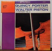 Quincy Porter Walter Piston 33RPM DST-6410       092416LLE #2