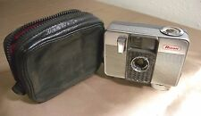 Vintage c.1960 Ricoh Auto Half 35mm Camera in Case Ansco Memo II