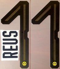 2018-19 Dortmund Home Shirt REUS#11 Official Football Name Number Set
