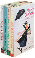 Mary Poppins, Comes Back, Opens Door, In the Park + P L Travers (Box Set)