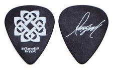 Breaking Benjamin Mark James Klepaski Signature Black Guitar Pick #3 - 2008 Tour