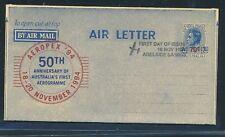 13495) aerogramme australia aeropex 1994, coman Adelaide 18.11...