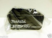 Original Makita BL1830 18-Volt 3.0 Ah LXT Lithium-Ion Battery Brand New