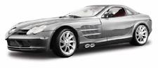 Mercedes Benz SLR McLaren Silver Maisto Premiere 36653 1/18 Scale Diecast Car