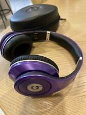 Beats by Dr. Dre Studio 1 Over Ear By Monster Noise Cancel Purple Nike Headphone
