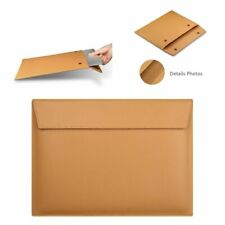 """Leather Sleeve Case For MacBook Air 13"""" 13.3"""" 15.4"""" 11"""" 2019 PU Retina Envelope"""