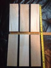 Balsa Wood Block 2 x 4 x 12, 6 pieces Free Shipping (3 3/4 x 1 3/8 x 12 exactly)