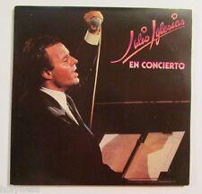 JULIO IGLESIAS / EN CONIERTO / GATEFOLD / DOUBLE LP RECORD / EX+