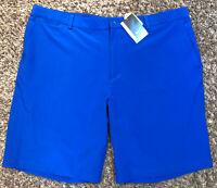 NIKE Golf Dri-Fit Mens 42 Tour Performance Royal Blue Shorts Stretch New NWT