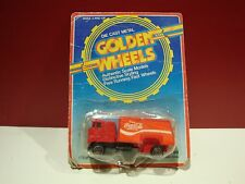 hot GOLDEN WHEELS coca cola haluer semi truck 1980 #005