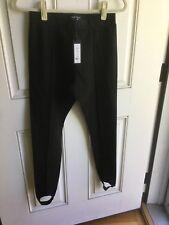Romeo + Juliet Couture Black Stirrup Leggings   Size M    Retail: $130