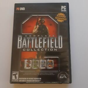 Battlefield Complete Collection PC DVD-ROM * Has Manual and Inserts * 3 disc