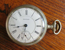 17 Jewels - As Is Antique American Waltham Pocket Watch