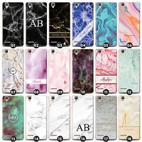 Personalized Marble Phone Case/Cover for Oppo Smartphone Initial/Name/Customize